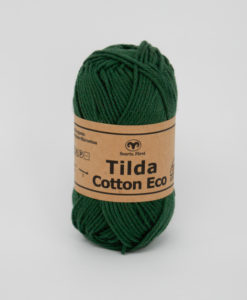 Garntorget Tilda Cotton Eco Mini Mörkgrön 286