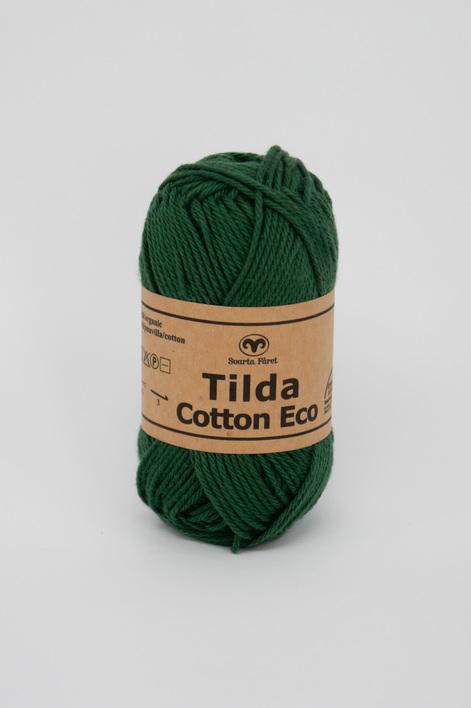 Garntorget Tilda Cotton Eco Mini Mörkgrön 286