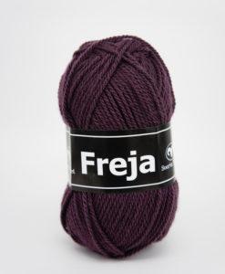 Garntorget Svarta Fåret Freja 100% Akryl Plommon - 263
