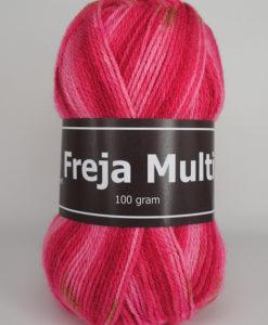 Garntorget Freja Multi 100% Akryl Röd/Rosa - 309