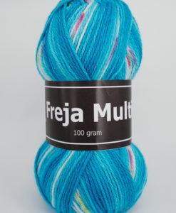 Garntorget Freja Multi 100% Akryl Blå/Vit/Grön - 310