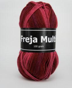 Garntorget Freja Multi 100% Akryl Röd/Rosa - 302