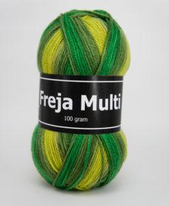 Garntorget Freja Multi 100% Akryl Grön/Gul - 305