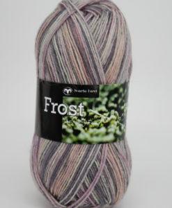 Garntorget Frost 8/4 Multi Ljusgrå/Rosa - 651