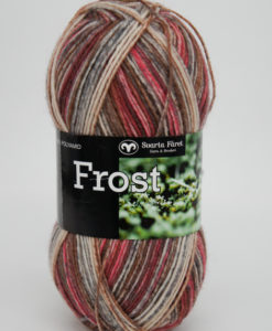 Garntorget Frost 8/4 Multi Korall/Brun - 655