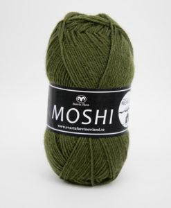Garntorget Svarta Fåret Moshi Olivgrön - 84