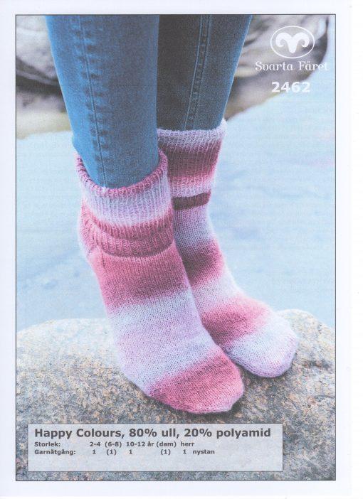 Svarta Fåret Happy Colours, 20% Polyamid 80% Ull , Sockor 2462399