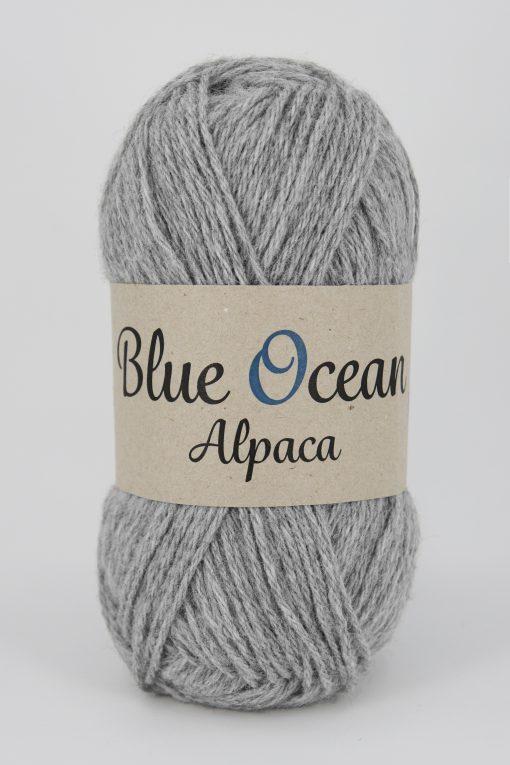 Blue Ocean Alpaca, Ljusgrå  03