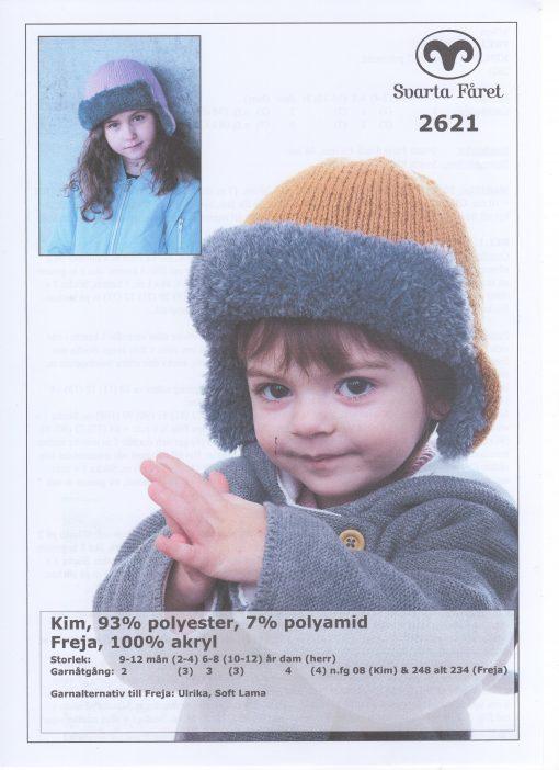 Kim Mössa 93% polyester 7% polyamid Svarta Fåret Garntorget 2621414