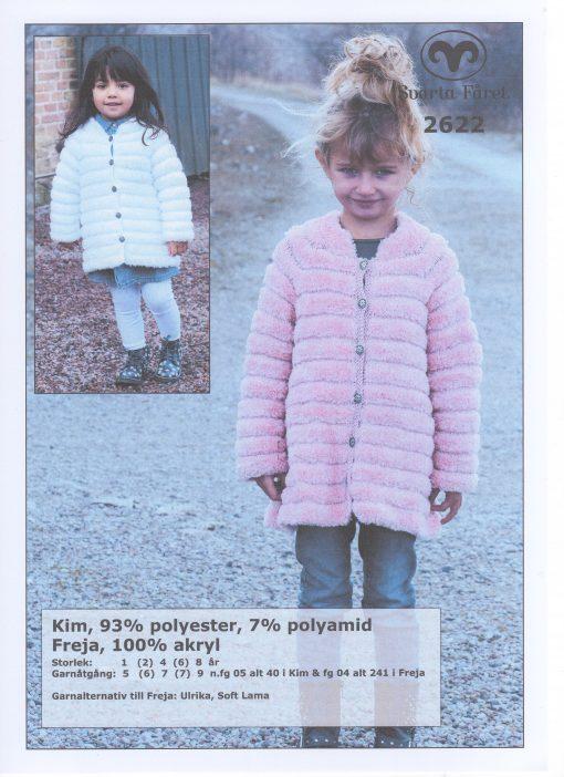 Kim Barnkappa 93% polyester 7% polyamid Svarta Fåret Garntorget 2622415