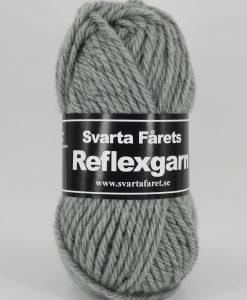 Reflexgarn Grå - 09 X Garntorget